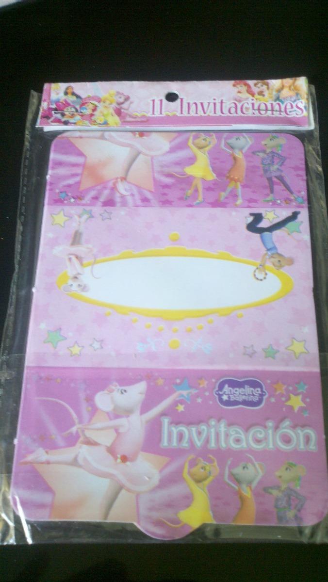 Tarjetas De Invitacion Infantiles Para Cumpleaños Oferta