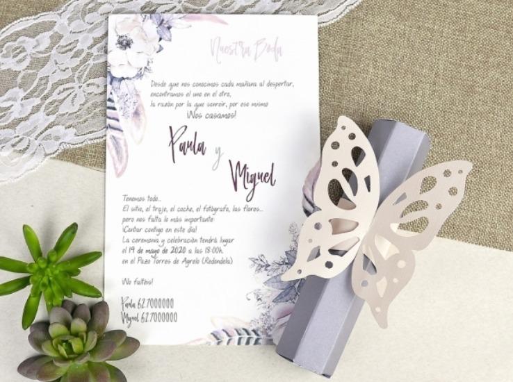 Tarjetas De Invitación Matrimonio Cumpleaños Bautizos