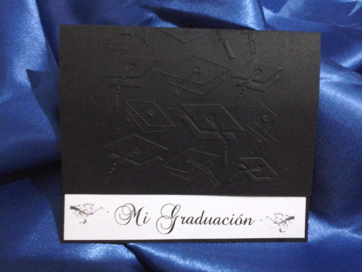 tarjetas de invitacin o recuerdo de graduacin