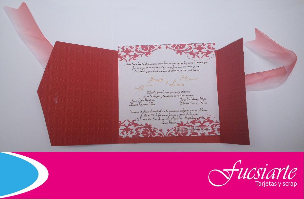 tarjetas de invitacin para bodas