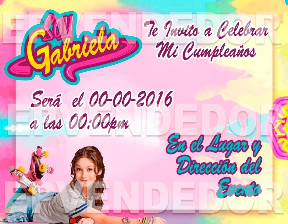 Tarjetas De Invitacion Soy Luna Invitaciones Epv