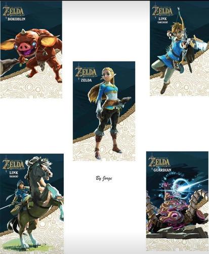 tarjetas de juego etiqueta nfc para zelda botw pack de 24