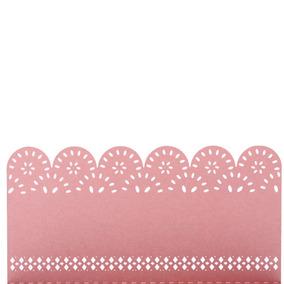 d0beca5cf644 Tarjetas De Mesa 50 Piezas Romántico Mesa Marca Tallado Pink