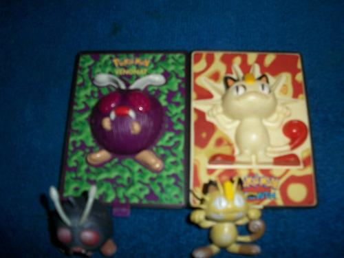 tarjetas de pokemon en 3d meowth venonat