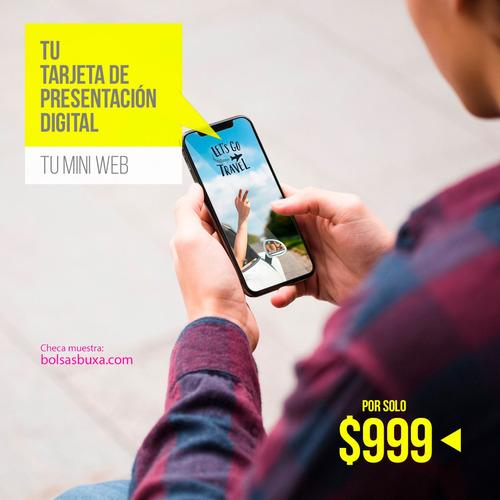tarjetas de presentación digitales - de alto impacto