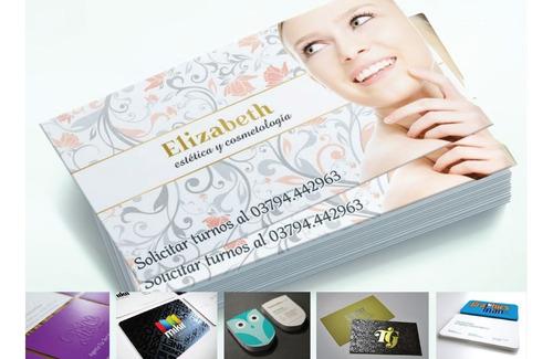 tarjetas de presentación, flyers, vinil decorativo y más