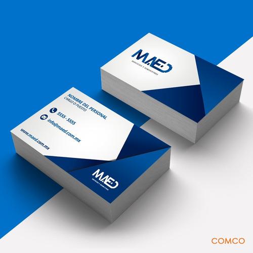 tarjetas de presentación premium urgentes día siguiente