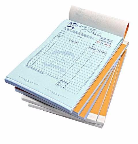 tarjetas de presentacion, talonario de facturas , volantes,