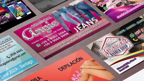 tarjetas de presentación visita termolaminado gratis