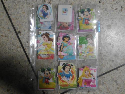 tarjetas de regalo de disney mini tarjetas nuevas