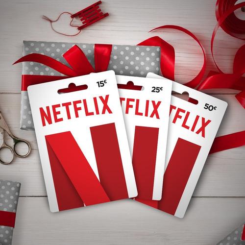 tarjetas de regalo netflix!