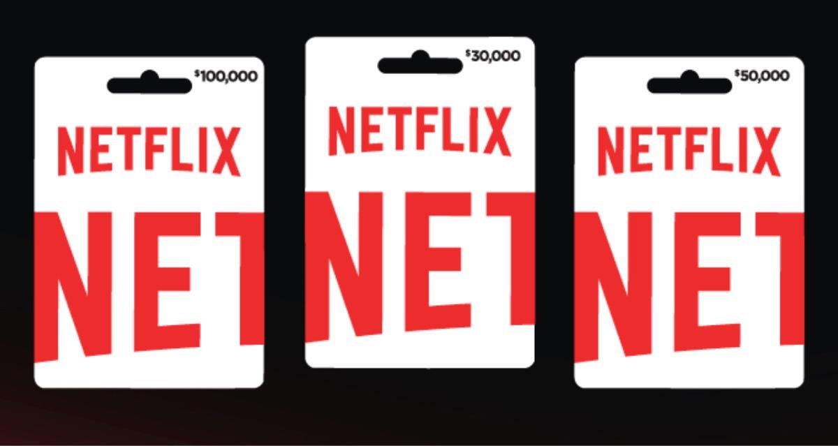 C贸digos Tarjetas De Regalo Netflix