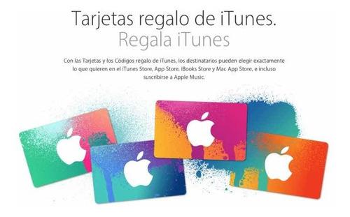 tarjetas de regalos apple id