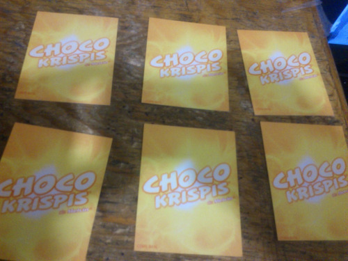 tarjetas dragon ball pelicula de choco krispis lote