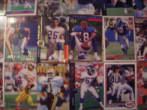 tarjetas futbol americano