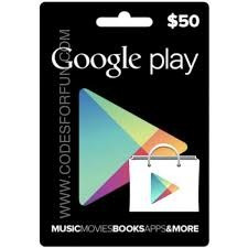 tarjetas google play $10 - $100 gift card usa