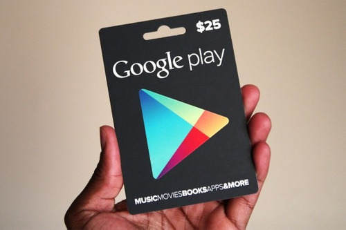 tarjetas google play store $15 android