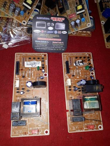tarjetas - hornos microondas samsung -lg -panasonic -daewoo