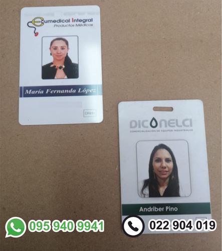 tarjetas identificacion pvc, credenciales,carnets,gift cards