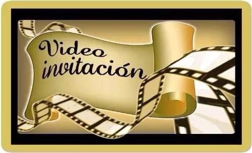 Tarjetas Invitacion Animada En Video Cumpleaños Infantil