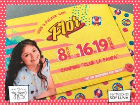 Tarjetas Invitación Cumple Infantil Evento Soy Luna Patines