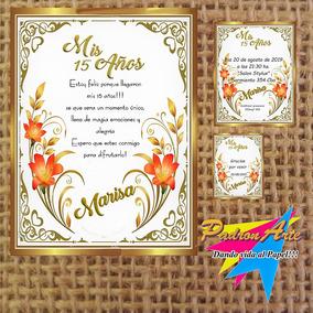 Tarjetas Invitacion De 15 Años Casamientos Bodas 100 Und