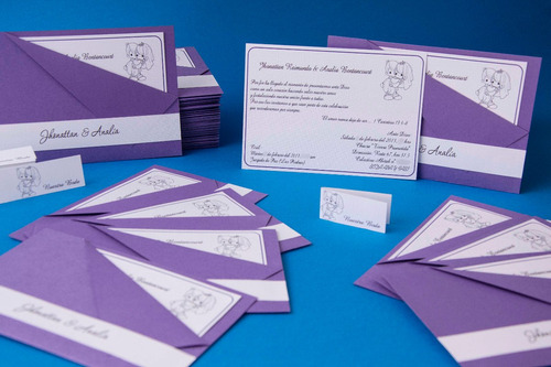 tarjetas - invitaciones 15 años boda etc variedad de diseños