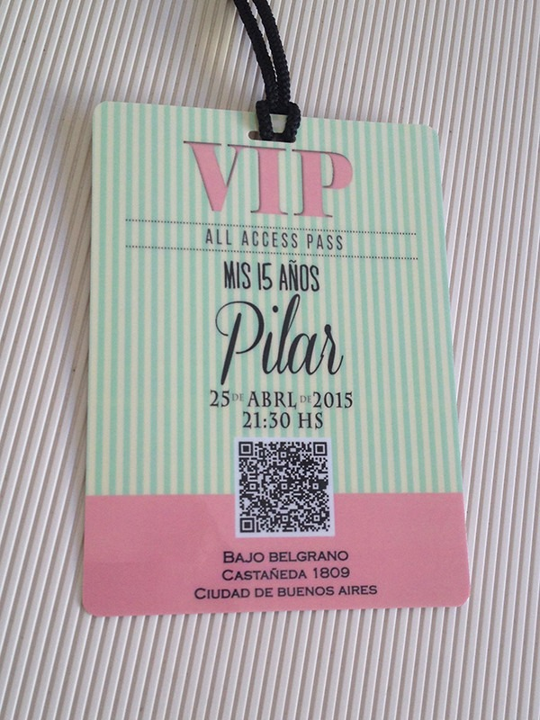 Tarjetas Invitaciones 15 Años Vip Pastificadas X10