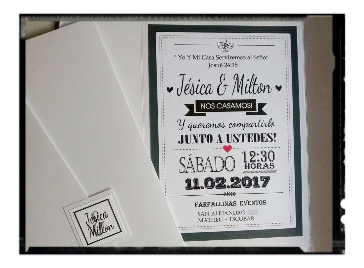 Tarjetas Invitaciones Casamiento 15 Años Quince Años