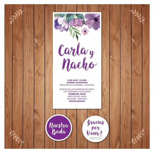 tarjetas invitaciones casamientos/15 años/bautismo/comunión