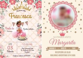 Tarjetas Invitacion Bautismo Originales Souvenirs Para