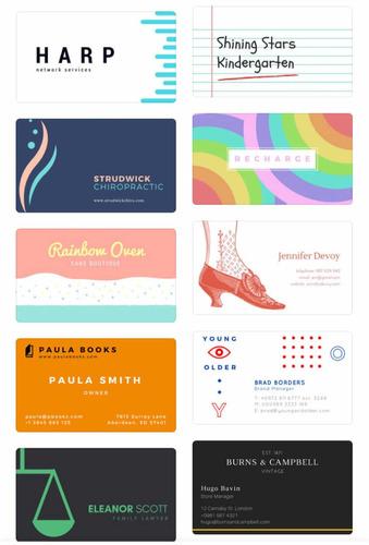 tarjetas, invitaciones, logos, etiquetas
