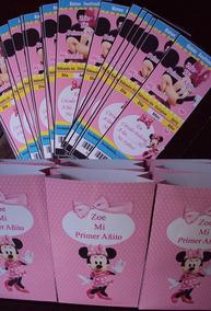 9157746e8 Bolsitas Golosinero De Minnie Mouse Rosa - Souvenirs para Cumpleaños ...