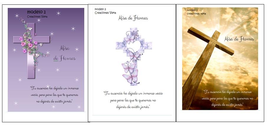 tarjetas para difuntos gratis