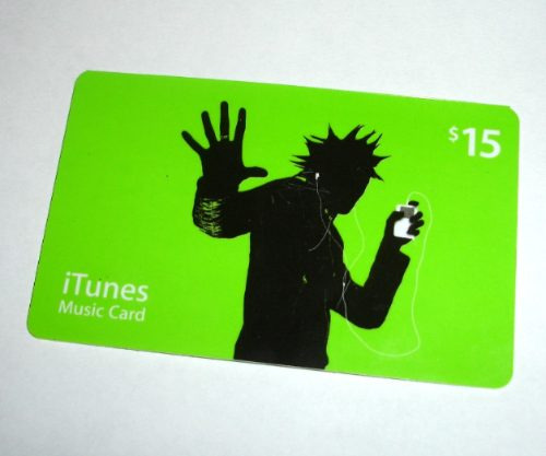 tarjetas itunes de $15 de apples store usa