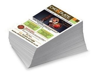 tarjetas litografía impresión diseño - volantes - plegables