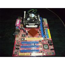 Tarjeta Madre Biostar+pentium4 2.66ghz+256mb Ram