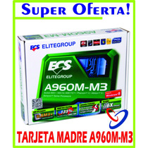Tarjeta Madre Amd Am3 Elitegroup A960 M -m3 Nueva! La Mejor!