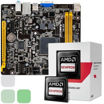 Combo Procesador Amd Dual Core + Tarjeta Madre + Amd Radeon