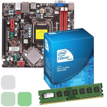 Combo Procesador Intel Dual Core + Tarjeta Madre + 2gb Ram