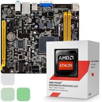Combo Procesador Amd Quad Core + Tarjeta Madre + Amd Radeon