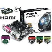 Combo Tarjeta Madre + Procesador Asrock D1800b Intel Dual Co