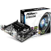 Tarjeta Madre Asrock Con Procesador Dual Core D1800m