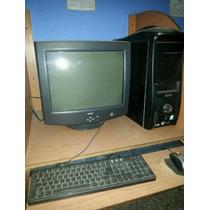 Procesador 3.06 Pentium 4 Tarjeta Madre Asrock 775 Con 1 Gb