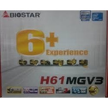 Tarjeta Madre Biostar H61mgv Socket 1155 Intel Core I3,i5,i7