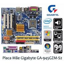 Tarjeta Madre Gigabyte 945gzm-s2 Socket 775