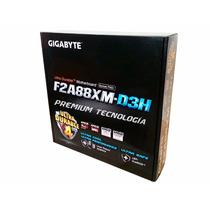 Tarjeta Madre Gigabyte F2a88xm-d3h Ddr3 Usb3 Fm2+ Crossfire