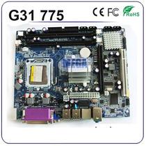 Tarjeta Madre Chipset Intel G31 775 Ddr2 667/800 Motherboard