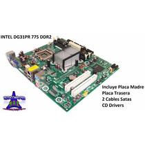 Tarjeta Madre Chipset Intel Socket 775 Ddr2 P/ Core2 Duo