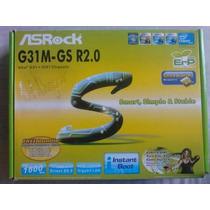 Tarjeta Madre Asrock G31m-s R2.0 / Socket 775 / Ddr2